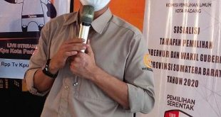 Ketua KPU Kota Padang, Riki Eka Putra