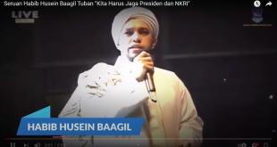 "Seruan Habib Husein Baagil Tuban ""Kita Harus Jaga Presiden dan NKRI"""