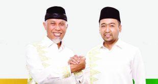 Pasangan Calon Gubernur dan Wakil Gubernur Sumbar nomor urut 4 Mahyeldi-Audy