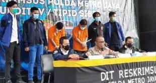 Kabid Humas Polda Metro Jaya memberikan keterangan Pers Pengancaman Pembunuhan Kapolda Metro Jaya.