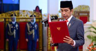 Presiden Jokowi Lantik Enam Menteri Baru Kabinet Indonesia Maju. ist