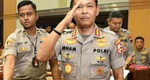 Kapolri Jenderal Idham Aziz yang akan memasuki masa pensiun pada 1 Februari 2021.