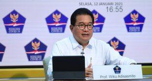 Prof Wiku Adisasmito menegaskan keamanan vaksin Covid-19 sudah dipastikan. ist