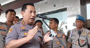 Kabareskrim Komjen Pol Listyo Sigit Prabowo yang menjadi calon tunggak Kapolri