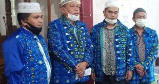 Ketua Badan Kontak Majelis Taklim (BKMT) Sumbar, Abdul Azis bersama jemaah mengajak masyarakat menciptakan situasi kamtibmas yang kondusif dengan menolak kelompok radikalisme dan intoleran