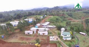 Pondok Pesantren Alam Agrokultural Markaz Syariah milik Rizieq Shihab di Kecamatan Megamendung, Kabupaten Bogor yang dibangun di atas lahan PTPN