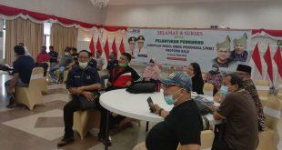 Gladi bersih jelang pelantikan pengurus Jaringan Media Siber Indonesia (JMSI) Provinsi Riau.