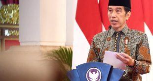 Presiden Jokowi meluncurkan Gerakan Nasional Wakaf Uang (GNWU) di Istana Negara, Jakarta