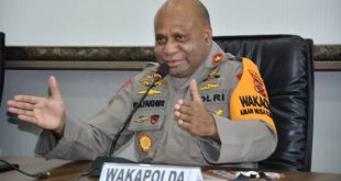 Wakapolda Papua Brigjen Pol Matius Fakhiri