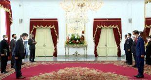 7 Dubes LBBP negara sahabat menyerahkan Surat Kepercayaan kepada Presiden RI Joko Widodo