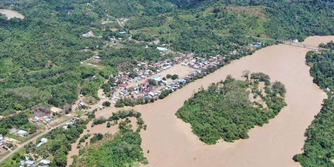Banjir Landa Beberapa Desa di Kalimantan Utara, Warga Mengungsi