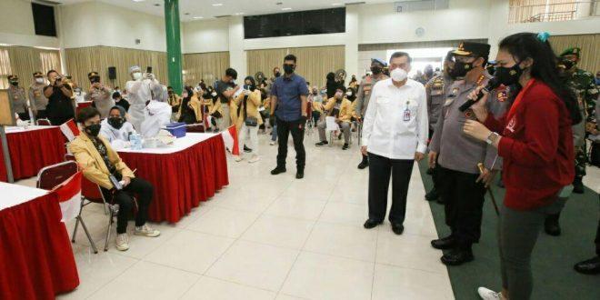 Gandeng Mahasiswa, Alumni Akpol 91 Gencarkan Vaksinasi Massal