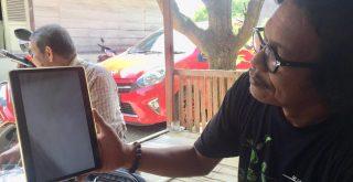 Sahnan Sahuri memperlihatkan video penembakan Deki Susanto